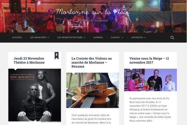 Morlanne sur la Place - simonfaure.com