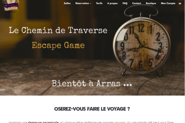 Le Chemin de Traverse - accueil - simonfaure.com