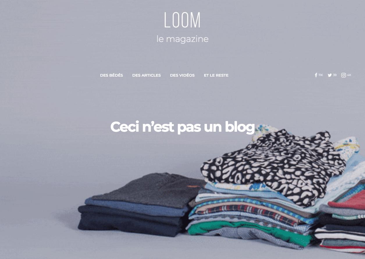 magazine - loom -simonfaure.com